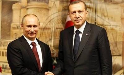 Putin taziye için Erdoğan'ı aradı