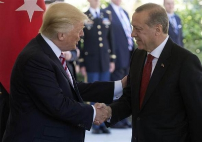 Erdoğan ve Trump Görüşmesi