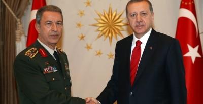 Erdoğan'dan komutanlara başsağlığı telgrafı