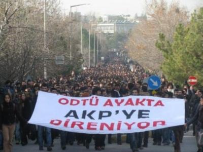 Erdoğan'ı protesto eden ODTÜ'lülere hapis cezası!