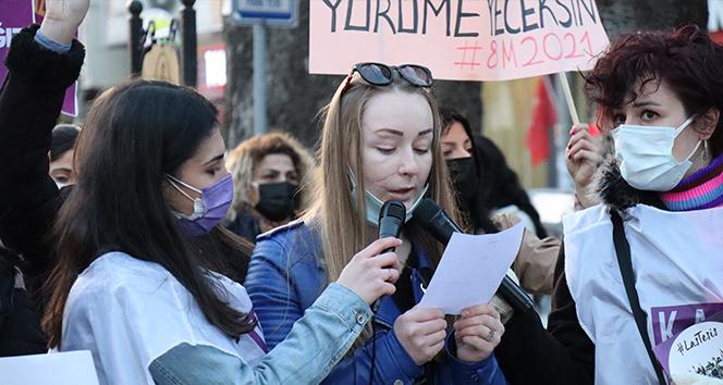 Falçata ile yüzü kesilen Ukraynalı Anna: 'Kadınların böyle birlik olması çok iyi'