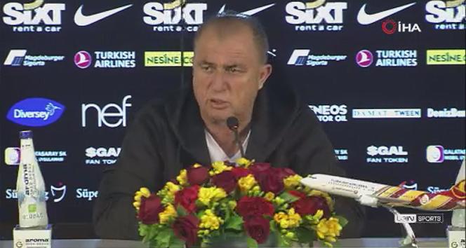 Fatih Terim: '8 maçı üst üste, zor bir fikstürde kazanmak önemli bir başarı'