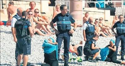 Burkini,Nice'te de serbest