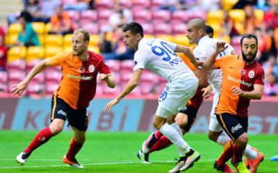 Galatasaray galibiyeti hatırladı.