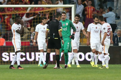 Galatasaray Kayseri'de 2 puan bıraktı