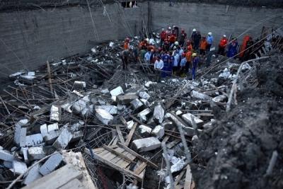 Gaziantep'te inşaatta göçük: 3 yaralı