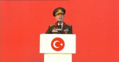 Genelkurmay Başkanı Akar: 'Gazi Mustafa Kemal Atatürk'ün de işaret ettiği 'Hakimiyet milletindir' düsturu sonsuza dek sürecektir'