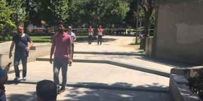 Gezi Parkı'ndaki çanta patlatıldı içinden battaniye çıktı!