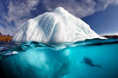 Grönland'da korkutan erime..!