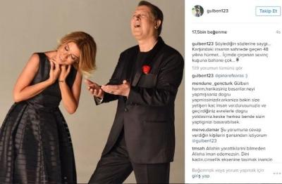 Gülben Ergen sosyal medyada gündem oldu