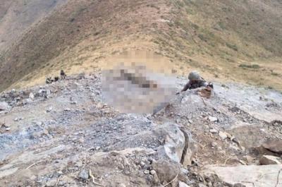 Hakkari'de çatışma: PKK'lı terörist ölü ele geçirildi