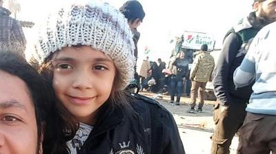 Halep'in sosyal medyadaki sesi Bana tahliye edildi