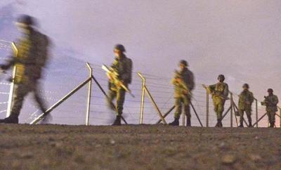 Hatay sınırında 122 Iraklı yakalandı
