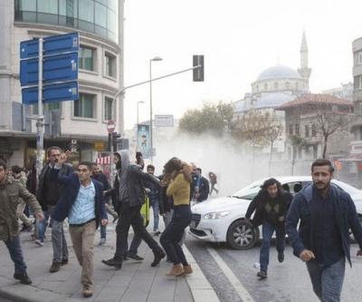 HDP protestolarında 65 gözaltı