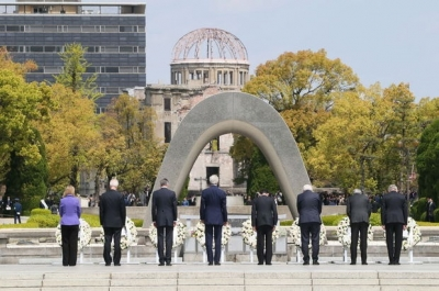 Hiroşima Obama'yı ağırladı