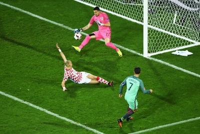 Hırvatistan oynadı, Portekiz kazandı!