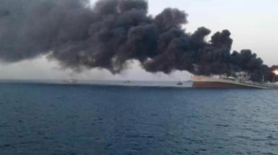 İran'ın En Büyük Savaş Gemisi Olarak Tarihe Geçen Hark Battı