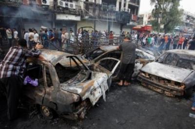 IŞİD, Bağdat'ı kana buladı