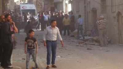 IŞİD Kilis'i yine vurdu.