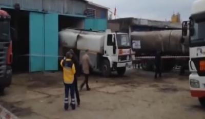 İstanbul Büyükçekmece'de petrol tankeri patladı!