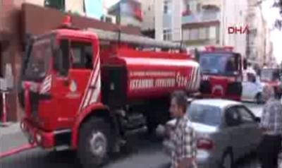İstanbul'da hastanede yangın!