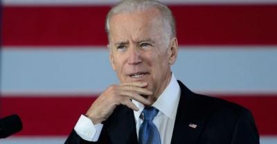 Joe Biden, Gazi Meclis'i gezdi