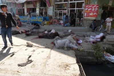 Kabil'de IŞİD saldırısı! 61 ölü