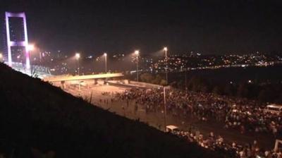Boğaziçi Köprüsünde protesto yürüyüşü!