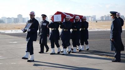 Kayseri'deki saldırıda şehit olan 7 askerin cenazesi memleketlerine gönderildi
