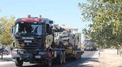 Kilis'e askeri sevkiyat!
