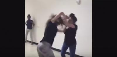 Kız kavgasını ayıran güvenlikçiye John Cena benzetmesi