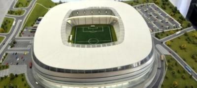 Kocaeli'ne Pişmaniye görünümlü stadyum