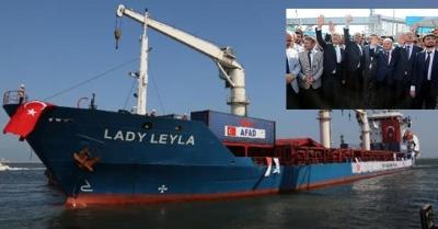 Lady Leyla Gazze için yola çıktı