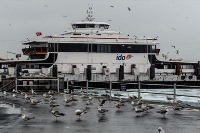 Lodos deniz trafiğini vurdu: İDO seferleri iptal!