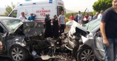 Malatya-Kayseri karayolunda kaza: 4 kişi hayatını kaybetti