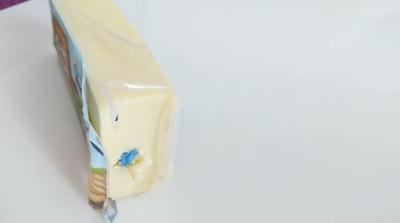 Marketten aldığı peynirin içinden çıkan şoke etti