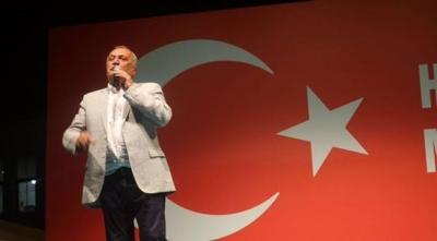 Mehmet Ağar Demokrasi Nöbeti'nde konuştu