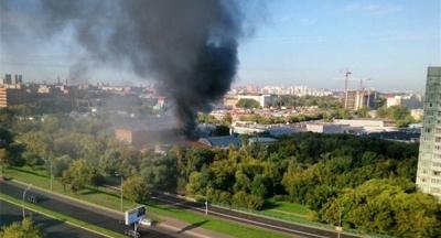 Moskova'da korkutan yangın: 16 ölü, 4 yaralı