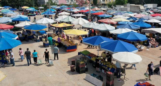 Muratpaşa Belediyesinden, semt pazarlarına sıkı kontrol
