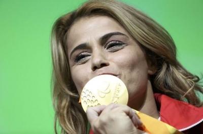 Nazmiye Murat'lı Rio'da tarihe geçti