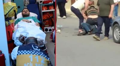 Nöroloji Uzmanının Kendisine Saldıran Kişiyle Boğuşması Kameralara Kaydedildi