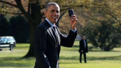 Obama'nın yeni BlackBerry'si!