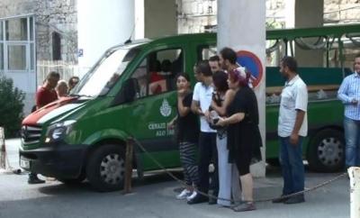 Oyuncu İsrafil Köse'nin cenazesi hastaneden alındı