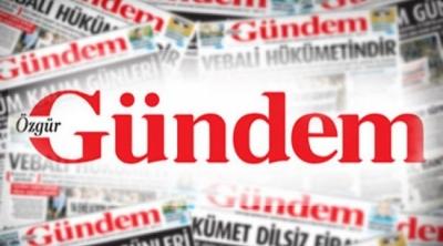Özgür Gündem, PKK propagandası yaptığı iddiasıyla kapatıldı!