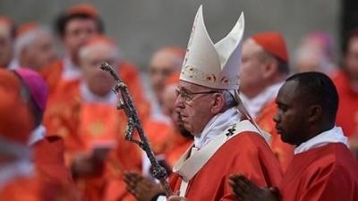 Papa Türkler için dua etti