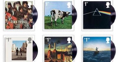 Pink Floyd'un 50.yaşı pullarla ölümsüzleşti