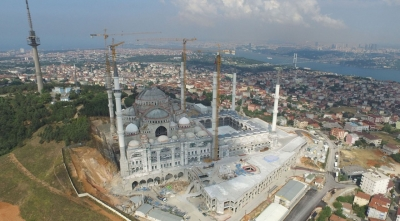 Proje iptal edildi.. Çamlıca Cami boş kalabilir