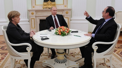 Putin,Merkel ve Hollande G20'de toplanacak