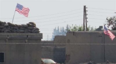PYD Bölgesindeki Amerika bayrakları için ABD'den açıklama!