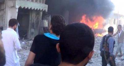 Rakka'ya hava saldırısı: 35 ölü